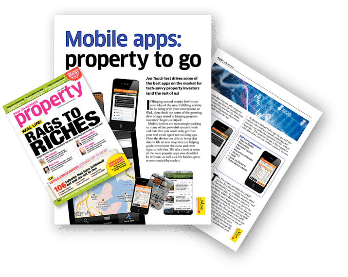 Your Investment Property Magazine featuring Boomscore